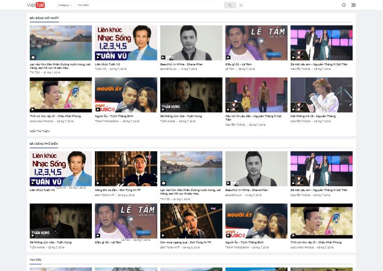 Hướng dẫn cài đặt template Việt Blogger Video
