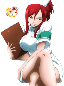 Fairy Tail - Erza Scarlet Render 14