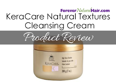 KeraCare Natural Textured Cleansing Cream Product Review