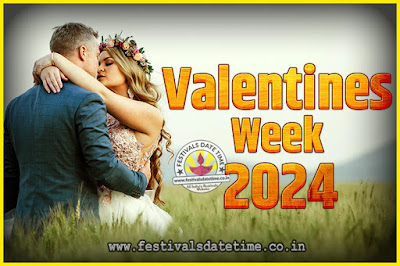 2024 Valentine Week List : 2024 Valentine Week Schedule, Hug Day, Kiss Day, Valentine's Day 2024