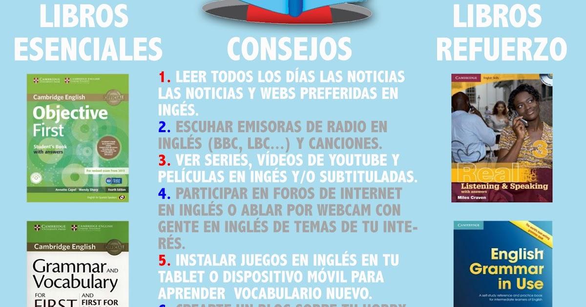 """CONSIGUE EL """"FIRST CERTIFICATE"""" (B2) POR TU CUENTA Y BARATO."""