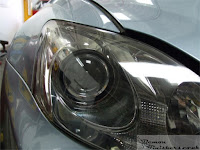 Tetbury Lexus - Headlight Lens Restoration