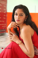 Actress Zahida Sam Latest Stills in Red Long Dress at Badragiri Movie Opening .COM 0128.JPG