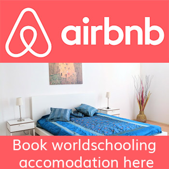 Worldschooling apartment