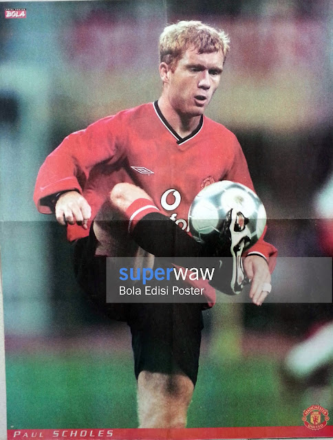 Poster Paul Scholes (Manchester United)