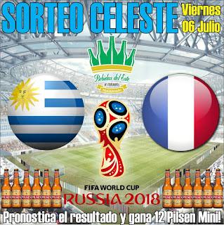 uruguay francia mundial rusia 2018 pilsen