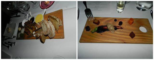 Jantar no Haute Cabrière, Franschoek - África do Sul