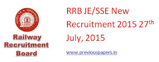 RRB JE/ SSE Recruitment Previous papers