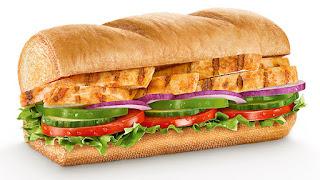 Subway - Chicken Fajita Sandwich für 2,69 Euro!
