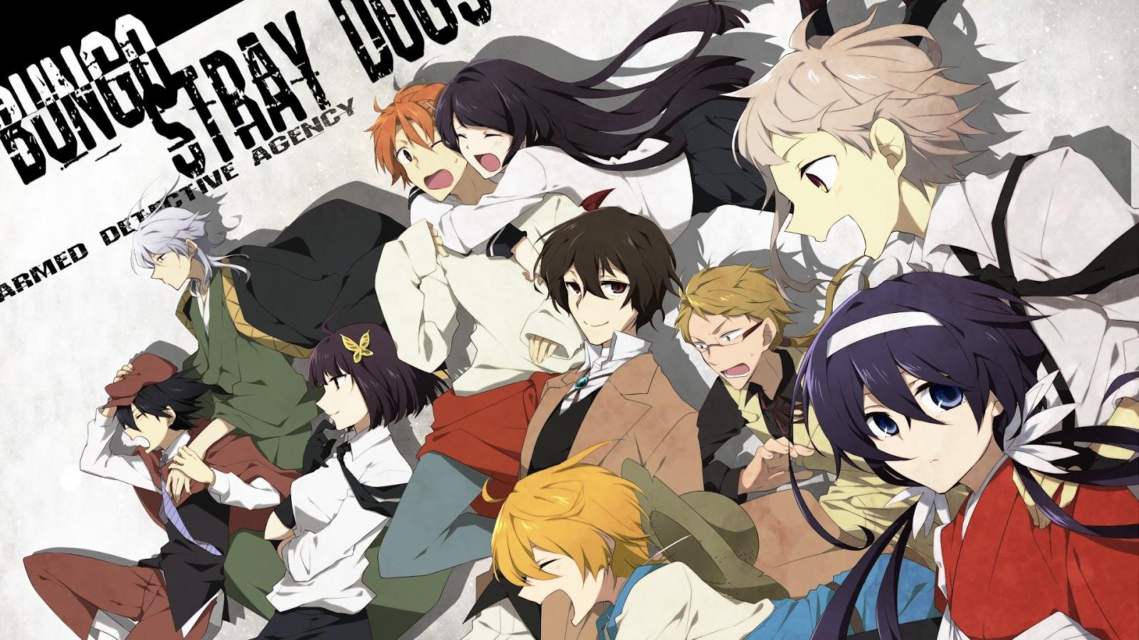 Bungou Stray Dogs - Movie Announced - Yu Alexius Anime Portal