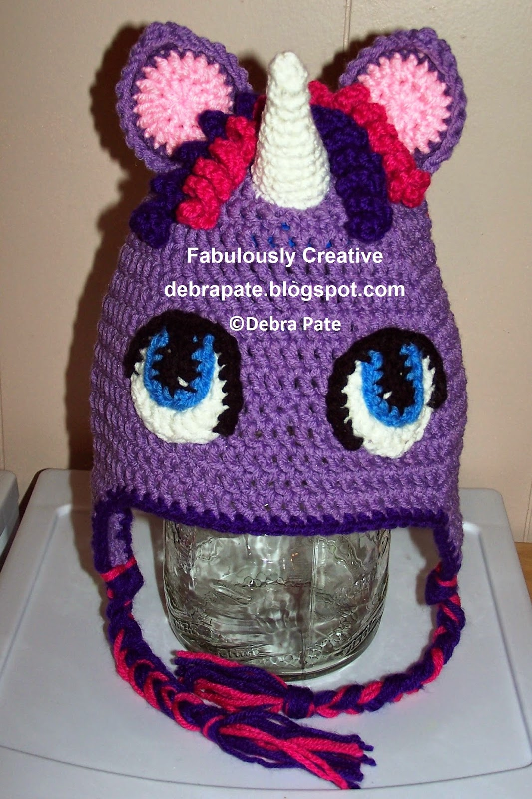Fabulously Creative My Little Pony Twilight Sparkle Crochet Hat
