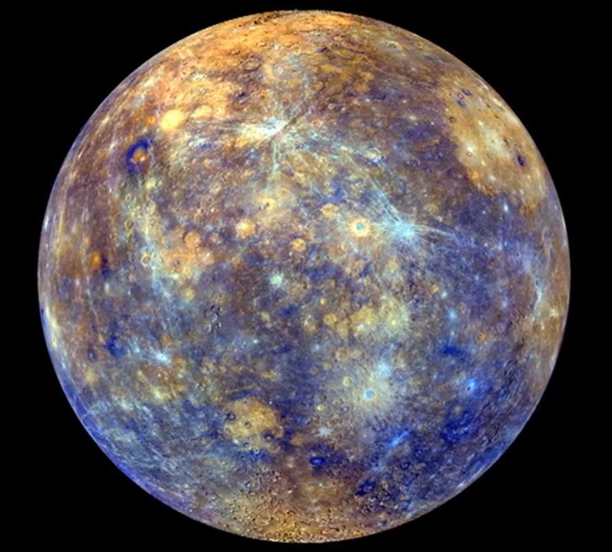 Merkur Planet Farbe