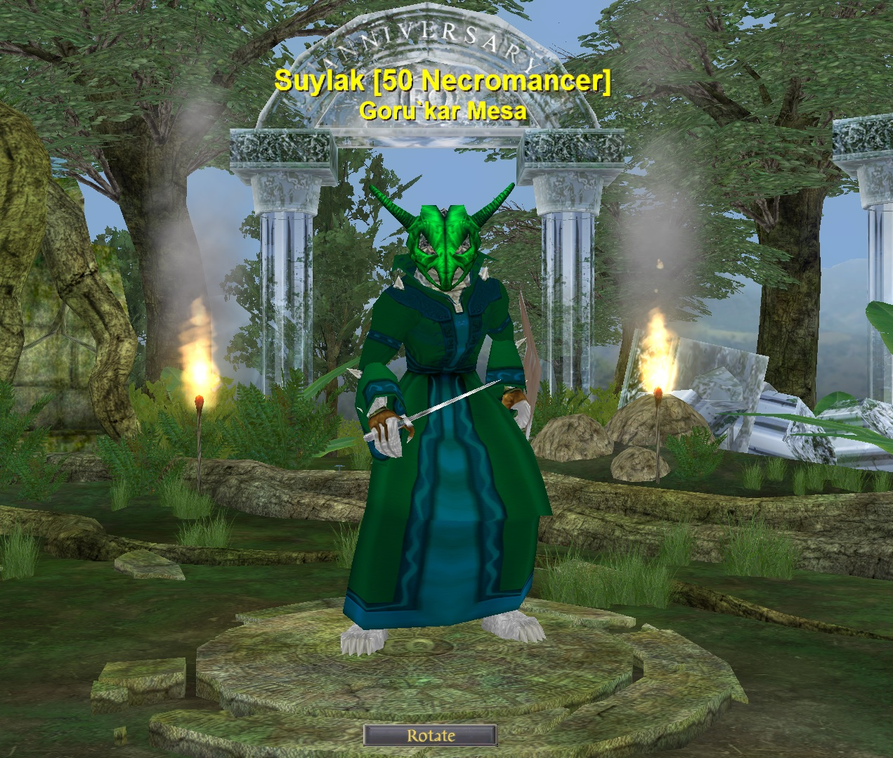 Yeebo Fernbottom's MMO Blog: Everquest: I finally made it to