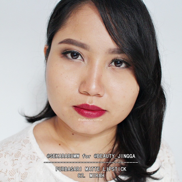 Purbasari Matte Lipstick 82 Mirah