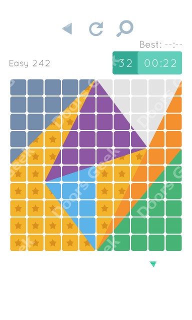 Cheats, Walkthrough for Blocks and Shapes Level 242