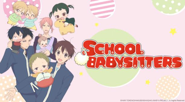Gakuen Babysitters - Daftar Anime 2018 Terbaik dan Terpopuler