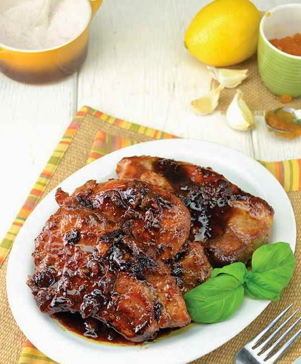 Apricot Orange Pork Chops