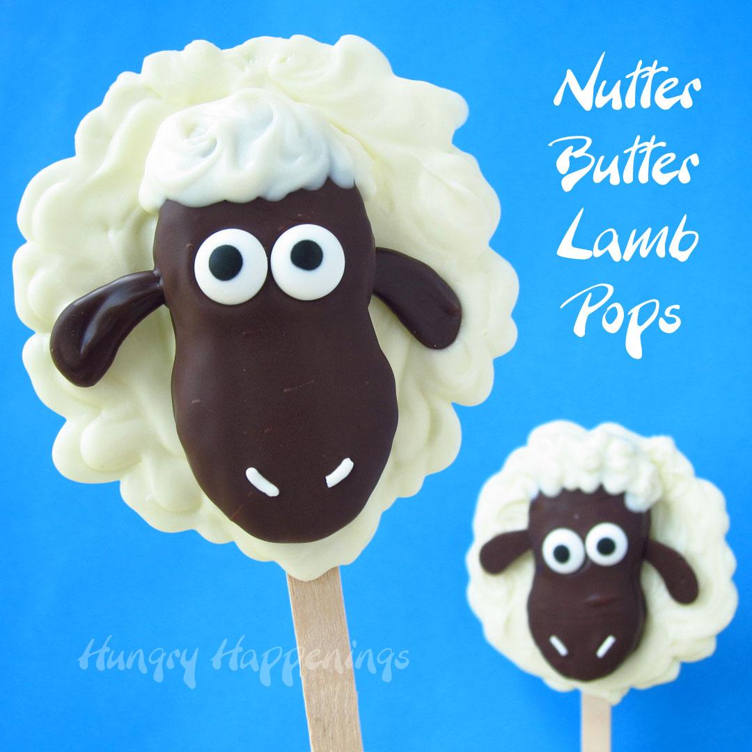 Nutter Butter Lamb Pops