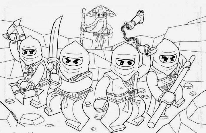 Ausmalbilder Lego Ninjago Ausmalbilder