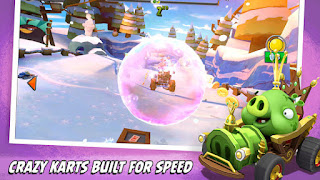 Free Download Angry Birds Go Full Mod Apk + Data