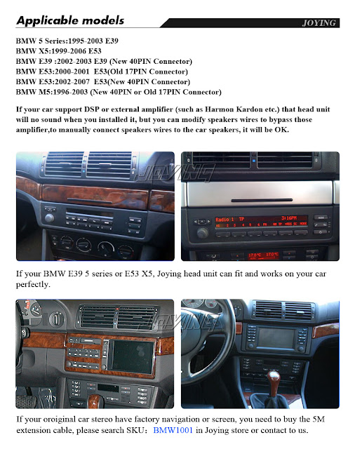 Joying Car DVD Player ,How to connect your subwoofer(external