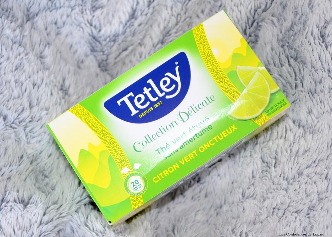 tetley - marque de the - the vert - the citron