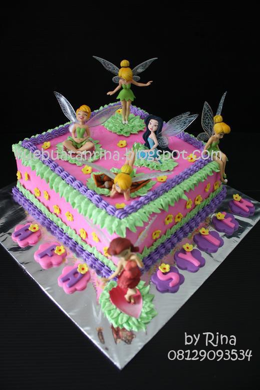 Masama Cakes Birthday Cake Themed Tinkerbell