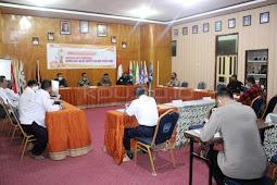 Komisi Pemilihan Umum (KPU) Majene Gelar Rakor Pengamanan Jelang Pendaftaran Pilkada 2020
