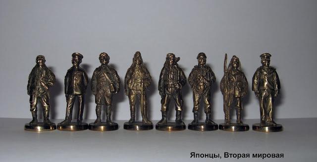 солдатики Юника вторая мировая война японцы