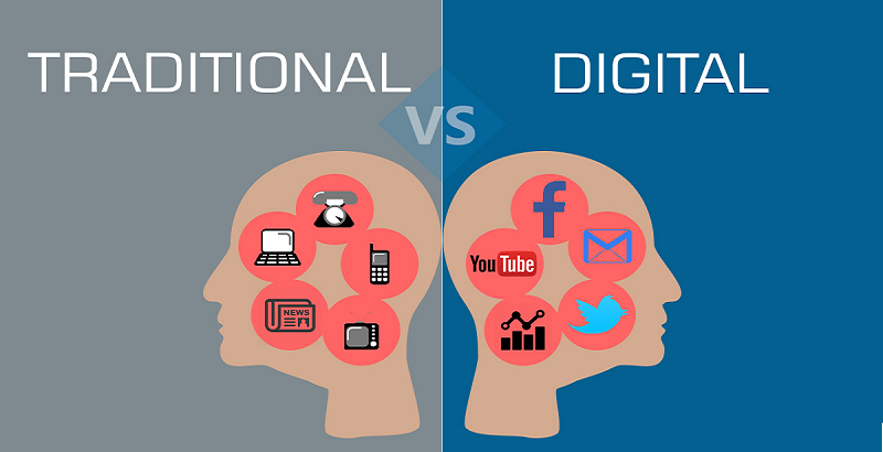 Digital Marketing over Traditional Marketing