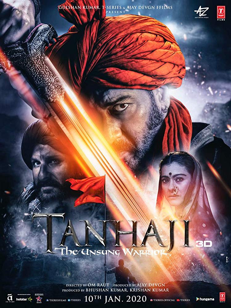 Tanhaji The Unsung Warrior 2020 Hindi 720p HDRip 900MB ESubs