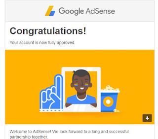 Bagaimana cara keterima google adsense