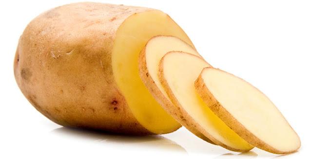 تفتيح البشرة ماسك عصير البطاطا
