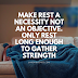 Make rest a necessity, not an objective. Jim Rohn Quotes