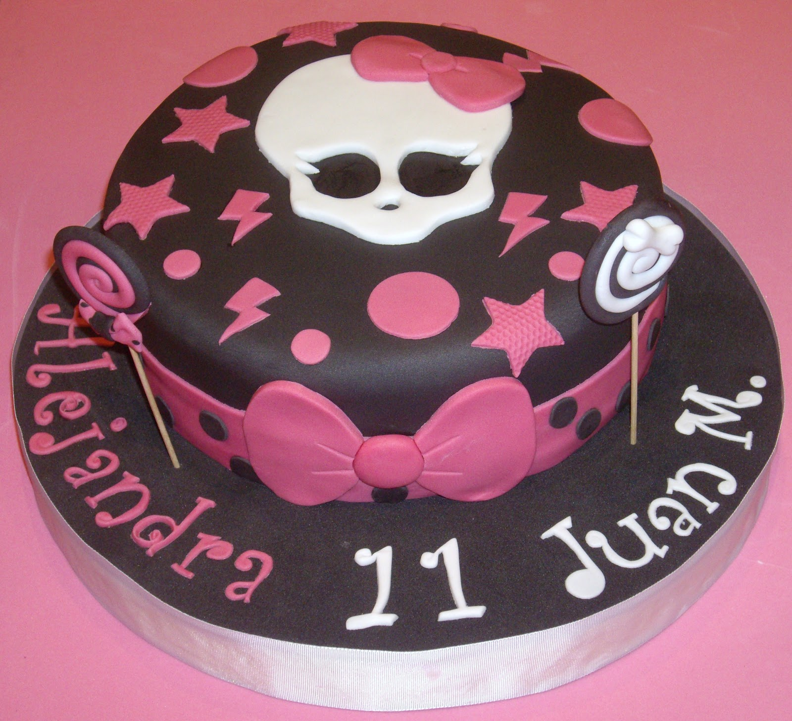 Tartas Cuca S Tarta Fondant Monster High