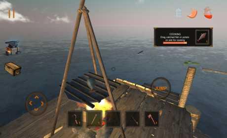 Game Bertahan Hidup Android Offline Raft Survival MOD APK
