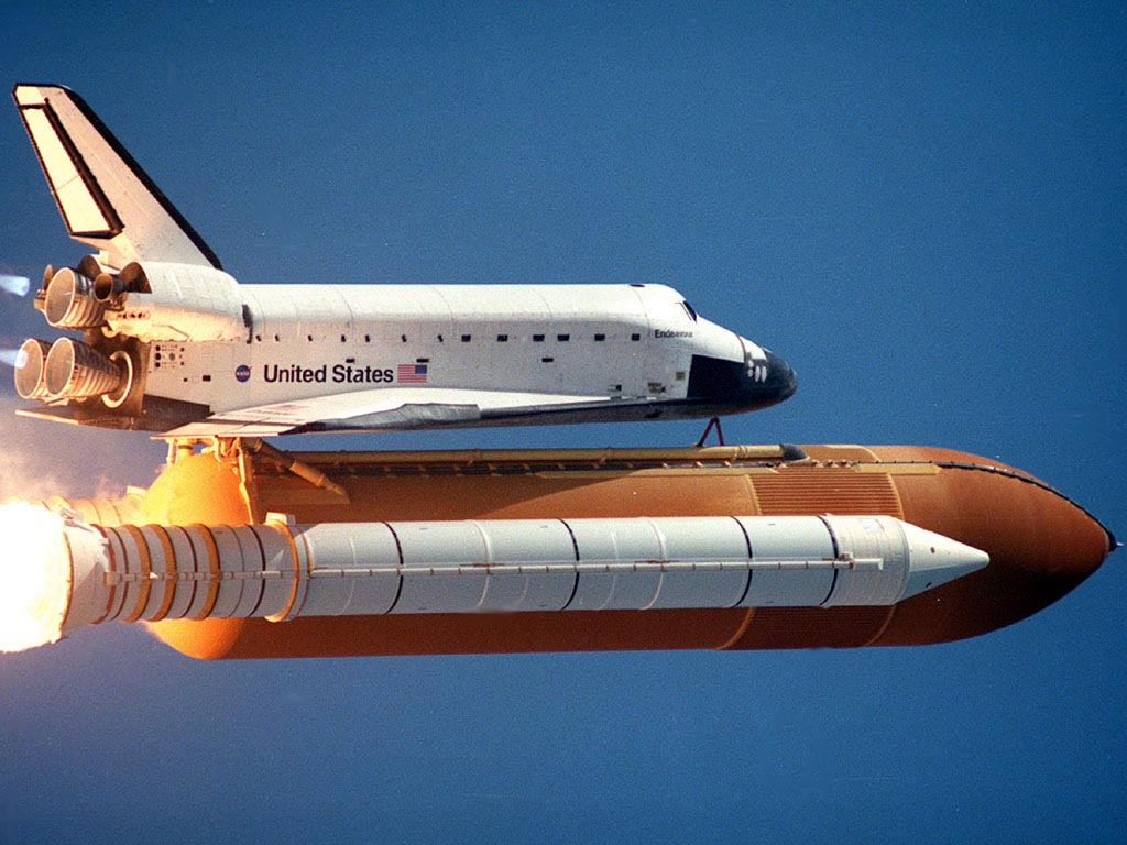 space shuttle with rocket - photo #40