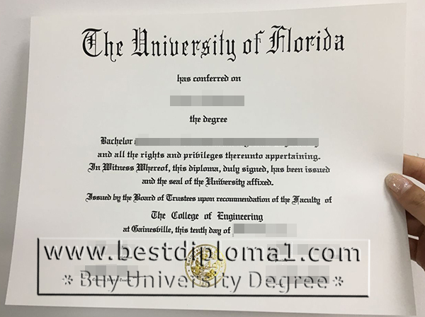 Florida degree certificates