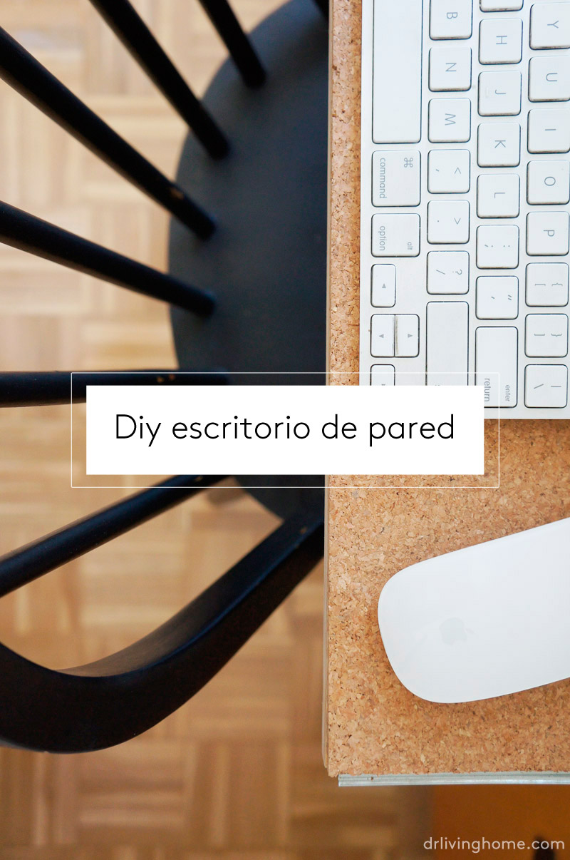diy escritorio de pared blog decoracin con tu estilo cmo decorar tu casa diy decoracin y muebles reciclados