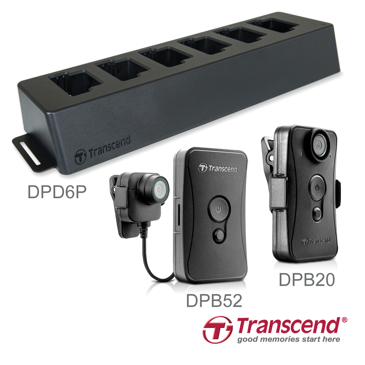 Transcend DrivePro Body 20 and DrivePro Body 52 Body Cameras