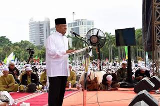 Pesan Jendral Gatot Diacara Maulid Majelis Rasululloh Di Monas..Mari Teladani Sifat Mulia Rasul Muhammad SAW