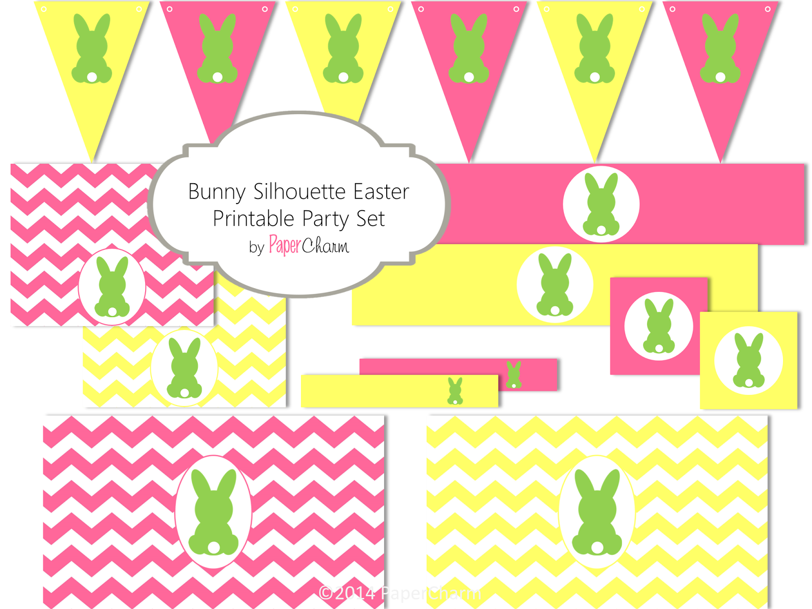 printable easter silhouette craft papercharm happy easter 50 from papercharm on etsy 5288