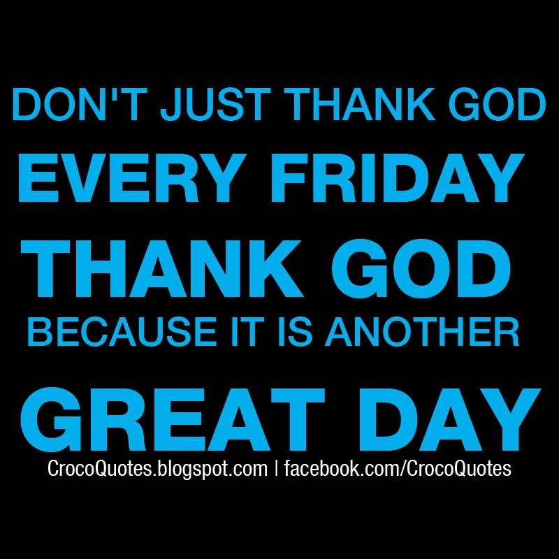 Don T Justthank God