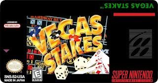 Vegas Stakes [ SNES ]
