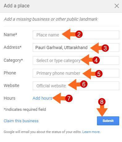 Google Map Par Missing Place/Bussiness Kaise Add Kare