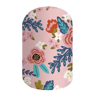 Kimono Jamberry Nails