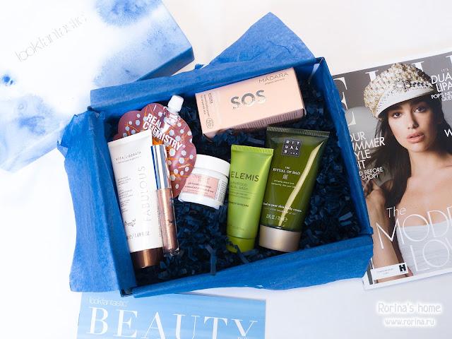 наполнение Lookfantastic Beauty Box июнь 2018