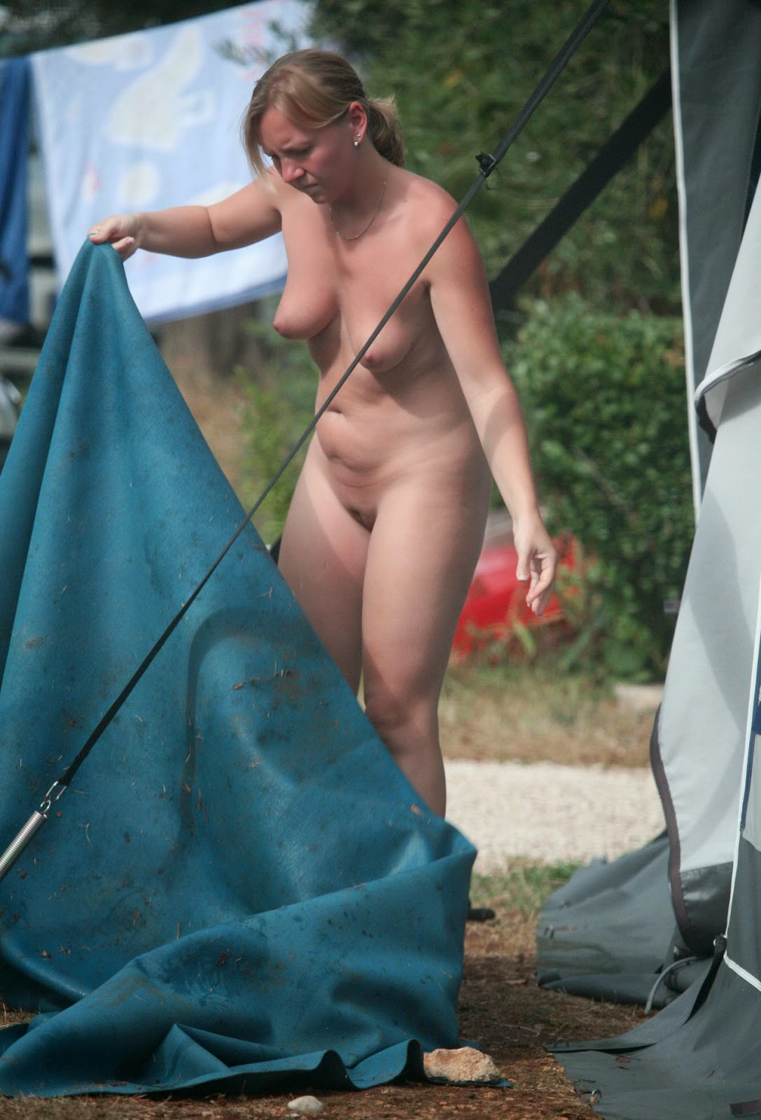 Nudism - Photo - Hq  Nude Camping Bares Area - Family Rest-8807