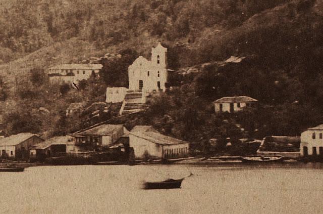 Viagem à Província do Espírito Santo – imigração e colonização suíça 1860, Vitória. Foto de Jean Victor Frond.