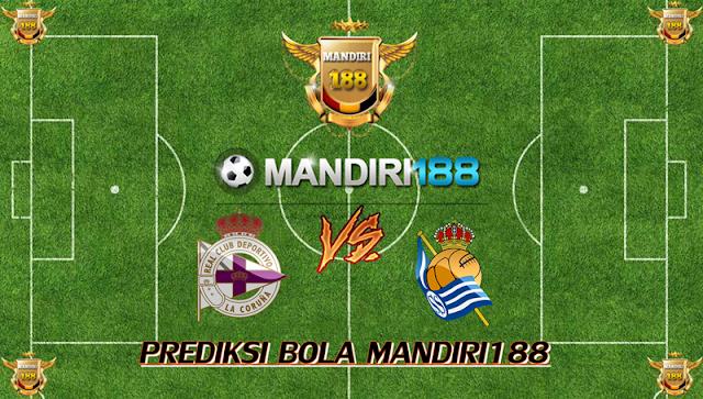 AGEN BOLA - Prediksi Deportivo La Coruna vs Real Sociedad 10 September 2017